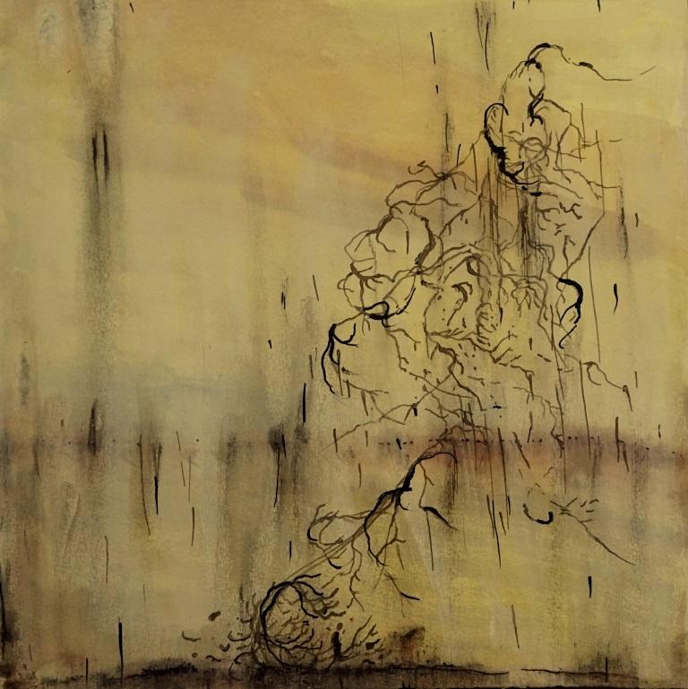 carita-savolaien-salt-rain-iv-watercolor-and-ink-on-paper-25cm-x-25cm-2020