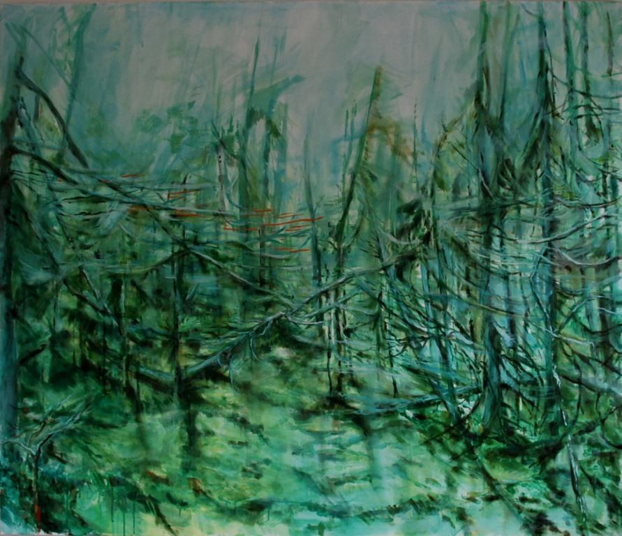 carita-savolainen-the-song-of-the-woods-she-was-here-oil-140cm-x-130cm-2016