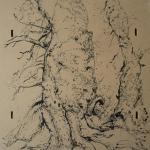 carita-savolainen-the-tree-i-3-30cm-x-40cm-ink-on-wood-2015-