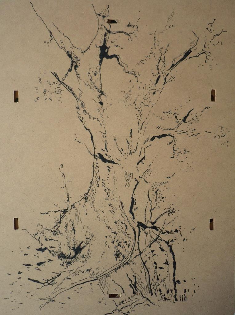 carita-savolainen-the-tree-i-2-30cm-x-40cm-ink-on-wood-2015-