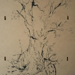 carita-savolainen-the-tree-i-2-30cm-x-40cm-ink-on-wood-2015-