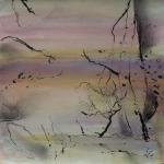 carita-savolainen-landscape-is-singing-iii-watercolor-and-ink-20cm-x-20cm-2018