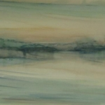 carita-savolainen-airscape-on-water-silence-2-watercolor-75cm-x-28cm-2013