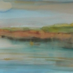 carita-savolainen-waterscape-watercolor-on-arche-paper-28cm-x-76cm-2011